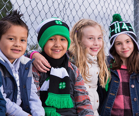 4-H grow true leaders - grow the next generation of 4-H'ers.