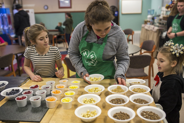 4-H Youth participate in Healthy Habits program