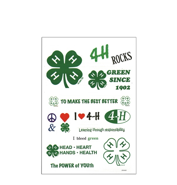 Assorted 4-H Stickers from Shop 4-H