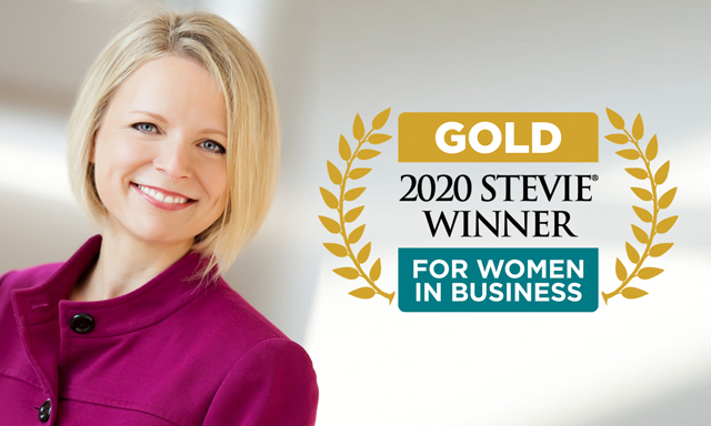 Jennifer Sirangelo, 2020 Stevie Winner for Women in Business