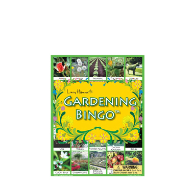 gardening bingo activity from Shop 4-H