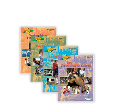 Veterinary Science curriculum set of 4 from Shop 4-H