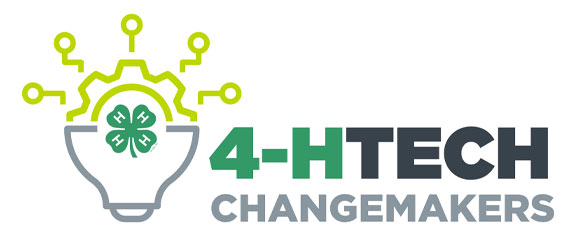 4-H Tech Changemakers logo